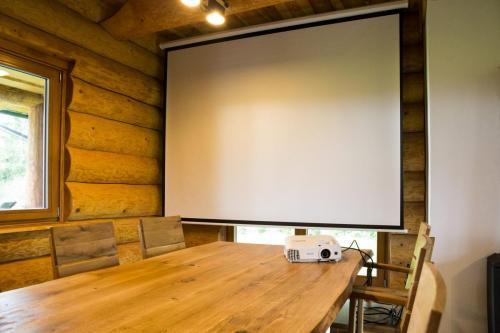 Obývák přízemí - Living room Groundfloor